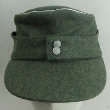 WWII GERMAN WH OFFICER M43 PANZER WOOL CAP HAT XL