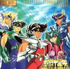 New 0012-3 SAINT SEIYA ETERNAL EDITION File No 7 8 CD Original Soundtrack Music