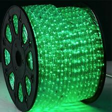ORBIT RL2 GREEN / CLEAR 120V 2 Wire Instant Flexible Rope Light  150'