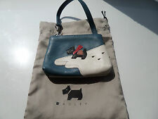 GORGEOUS TINY RARE RADLEY PENGUIN PICTURE BAG WRISTLET MINI BAG COLLECTOR 2002
