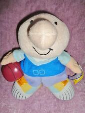 "Ziggy Basketball Player 2004 Kellytoy Stuffed Plush 10"" Doll Tom Wilson"