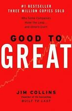 Good to Great Why Some Companies Make the Leap Others Don't Jim Collins BUSINESS