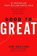 Good to Great : Why Some Companies Make the Leap... Jim Collins BRAND NEW