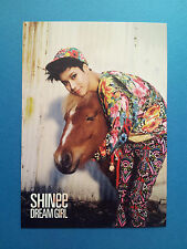 SHINee World Dream Girl Official Photo Post Card Postcard Set -TaeMin