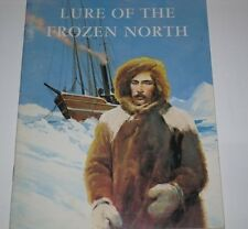 1962 LURE OF THE FROZEN NORTH FICTION BOOK BY TONY SIMON VINTAGE
