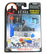 Batman's Battle Headquarters Batman Adventures Battle Micro Set NEW!!
