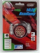 14 LED LILIANG Ultra bright Adjustable Head Lamp for camping, hiking etc