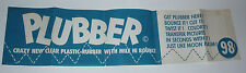 1960's PLUBBER Toy Store Display flubber silly putty vintage