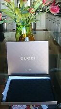 $195 New w/ Box Gucci Silicone Ipad 1 and 2 cover with Signature GG logo- Black