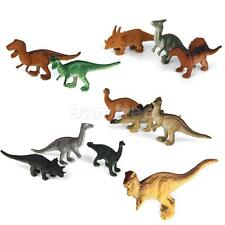 12 Mixed Dinosaur Toys Playset Christmas Stocking Filler Party Gift Figures
