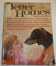 Better Homes And Gardens Magazine 25 Decorating Wrongs February 1966 122014R