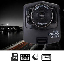 "Full HD 1080P 2.4"" LCD Car DVR Dash Cam Camera G-Sensor IR Night Vision HOT"