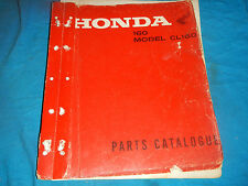 1966 1967 1968 66 67 68 HONDA CL160 CL 160 PARTS MANUAL BOOK CATALOG