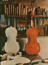 Document de Magazine ( découpage) Atelier de Luthier  1959 ( P 33)