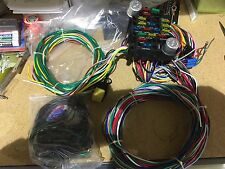 universal ford wiring harness 21 circuit wiring harness chevy mopar ford hot rods universal wire ez to install