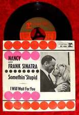 Single Nancy & Frank Sinatra: Somethin Stupid / I will wait for you