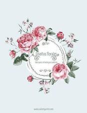 Diseños Florales: Diseños Florales Libro para Colorear para Adultos 1, 2 And...