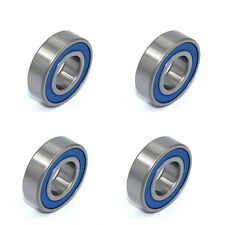 Rubber Sealing Ball Bearing Upgrade Parts 5mm*11mm*4mm For RC Model Car Blue ×4