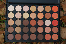 NEW 35O Nature Glow Shimmer Eyeshadow Palette COMPARE to MORPHE GENERIC