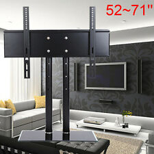 Table Top TV Stand Replacement Universal Tabletop TV Base Stand Mount For 52-71""