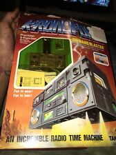 Kronoform Hi Band Blaster Radio Time Machine Takara 1984 Vintage Toy