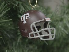 Texas A&M Aggies Football Helmet Christmas Ornament