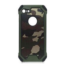 Camouflage Handy Schutz Hülle Army Case Tasche Silikon Bumper Zurück Cover Etui