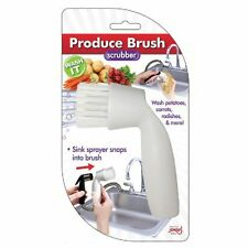 Jokari Produce Brush - Sink Sprayer Scrubber Attachment