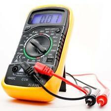 Voltímetro Digital Ohmetro Amperímetro Multímetro Voltio AC probador de DC