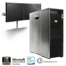 HP Z600 Workstation/ PC  x2 Intel  E5506 2.13Ghz / 12GB RAM/ NEW 1TB HDD/  Win7