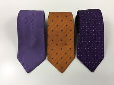 Lot of 3 TURNBULL & ASSER English Silk Men's Ties