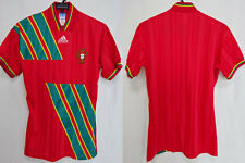 1992-1993 Portugal Portuguese FPF Vintage Jersey Shirt Home Adidas UEFA EURO S