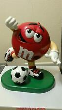 m&m character candy dispenser football  player candy dispenser 1999