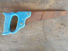 """Handy Andy Toy Saw Tool Antique Kids Tin Hand Saw very rusty etc apx 10.5"""" long"""