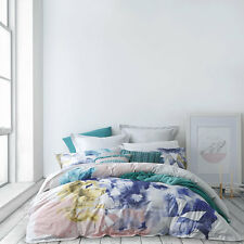 Ltd By Logan and Mason KAIA JEWEL QUEEN Size Bed Doona Duvet Quilt Cover Set