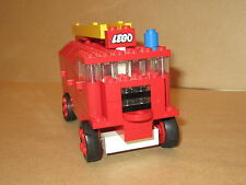 Lego Set 336 Fire Engine Vintage Toy 1968