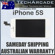 iPhone 5S Genuine White LCD Digitizer Display Front Glass Touch Screen Assembly