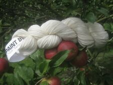 Chunky Aran Lt. Cream 100%Pure New Wool Ideal for Dyeing, Knitting or Rug Making