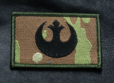 REBEL ALLIENCE STAR WARS TACTICAL MORALE HOOK PATCH
