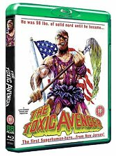 THE TOXIC AVENGER - BLU-RAY - UNCUT - SPECIAL EDITION - MICHAEL HERTZ