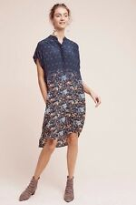NEW Anthropologie Tanvi Kedia (NWT) TANSEY Silk Tunic High Low Dress XL $188