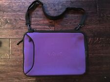 VAIO Neoprene Purple Laptop cover with shoulder strap