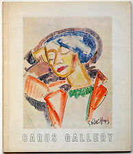 Expressionist Catalogue: Carus Gallery-Watercolors, Drawings, Original Graphics