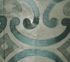 DESIGNERS GUILD Quinto Copacabana Green Sheer Netting New Remnant