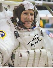 TIM PEAKE International Space Station ESA NASA Astronaut personally signed 10x8