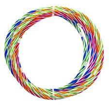5 x 70cm multicolore enfants adultes hula hoop en plastique résistante intérieur/extérieur