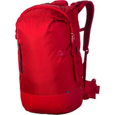 DC Borneo Backpack - Laptop Compartment - Red School Hiking Skateboard Bag