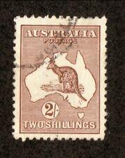 Australia--#52 Used--Kangaroo--1916