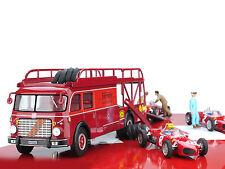 1/43 Brumm Fiat 642 RN Bartoletti Ferrari Race Transporter Set RTS02