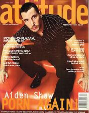 ATTITUDE #46 02/1998 AIDEN SHAW William Higgins PATRICK FORGE St Etienne @EXCLT@